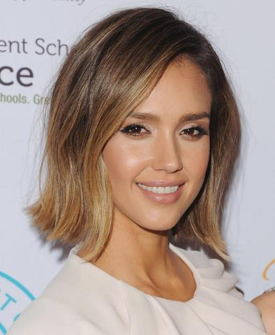Blunt Cut Inverted Bob Slight framing around the oval face large - MCSARA Hair