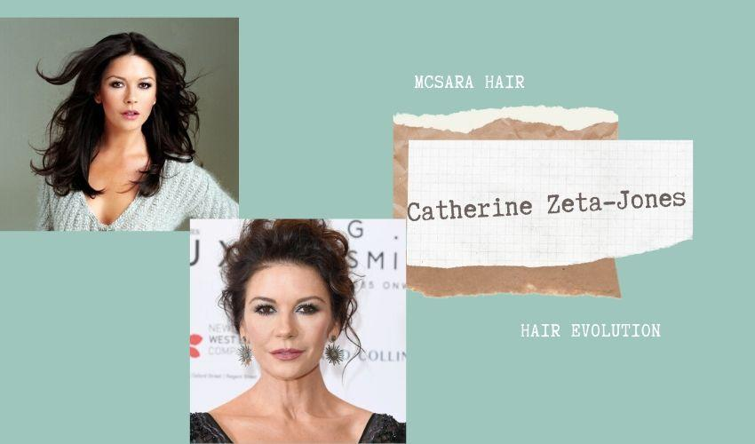 Catherine Zeta Jones Hair Evolution - MCSARA Hair