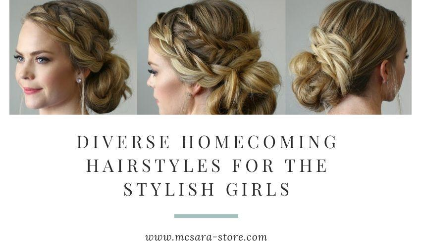 DIVERSE HOMECOMING HAIRSTYLES FOR THE STYLISH GIRLS - MCSARA Hair
