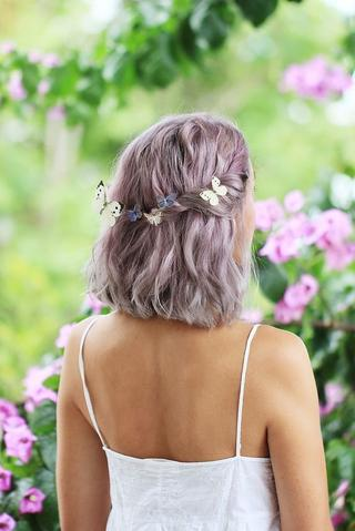 Lilac Hair large - MCSARA Hair