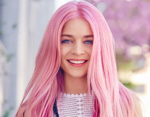 Pastel Pink Hair large - MCSARA Hair