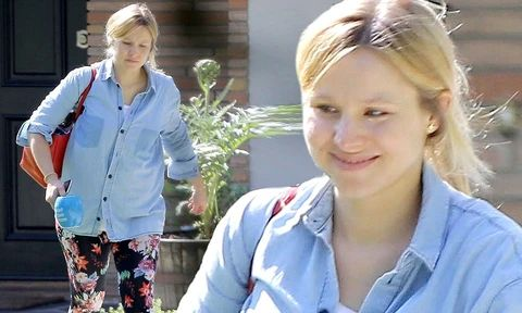 Some more pictures of Kristen Bell no makeup 1 large result - MCSARA Hair