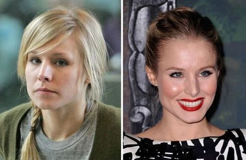Some more pictures of Kristen Bell no makeup 2 large result - MCSARA Hair