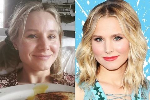 Some more pictures of Kristen Bell no makeup large result - MCSARA Hair