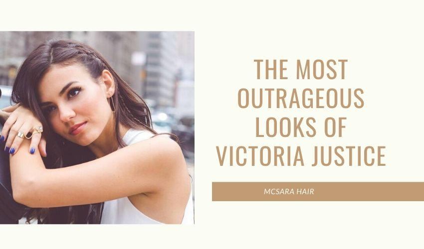 The Most Outrageous Looks Of Victoria Justice - MCSARA Hair