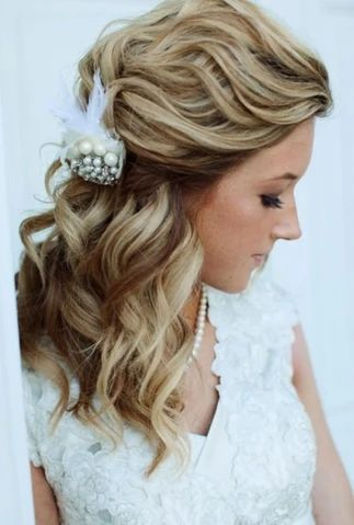 Tied Hairstyle With Sparkling Accessory large result - MCSARA Hair