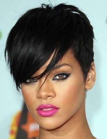 mcsara 50 Best Rihanna Short Hairstyles 8 large - MCSARA Hair