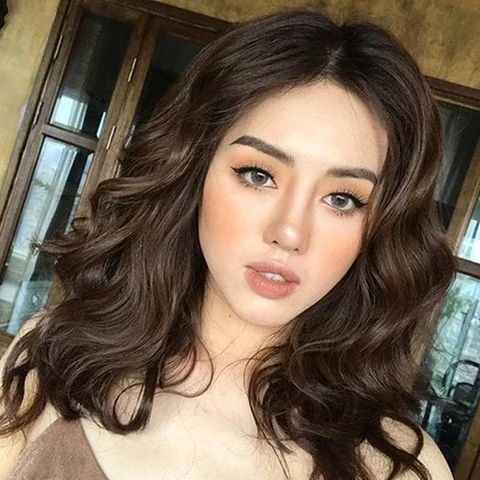 mcsara Wavy brown hair can make the woman more and more attractive and magnificent large - MCSARA Hair