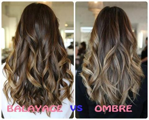 ombre vs balayage large - MCSARA Hair