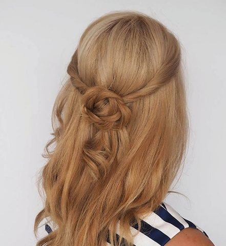 party hairstyle large - MCSARA Hair